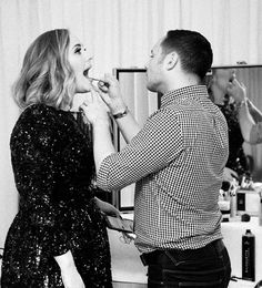 Lets give that lipstick a touch up. adele.com