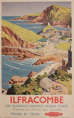 Ilfracombe, Devon ~ Harry Riley   British Railways