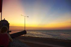 Cafe del Mar Cartagena, Colombia @ Sunset