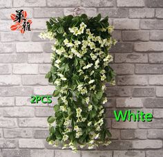 Aliexpress.com : Buy NEW Wall lilac vine with silk 7 colors 1500 heads artificial flower living room shop party decoration free shipping NO VASE from Reliable silk orchid suppliers on Lore 's Decoration Flowers Store. $64.99
