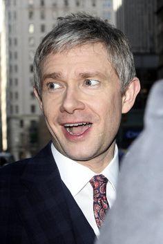 Martin Freeman attends Fargo screening in NYC, April 9 2014