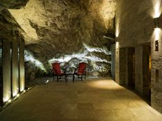 The Grotto at Palace Wellness, Badrutt's Palace Hotel