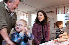 Crown Princess Mary visits the Kindergarten (SIV)