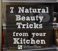Did you know that you have natural beauty products ready to go in your kitchen? Find out which common kitchen items can be transformed into incredibly easy DIY projects!