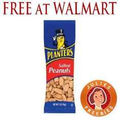 Free Planters Salted Peanuts at Walmart