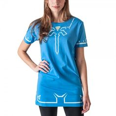 Official 'Zelda: Breath Of The Wild' Tunic Dress For Everyday Link Cosplay