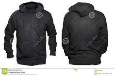 Black Hoodie Mock Up Stock Image. Image Of Isolated, Empty in Blank Black Hoodie Template