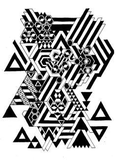 Allen taylor #Geometric pattern