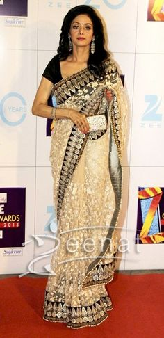 Sri Devi In Bollywood Sarees