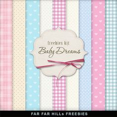 Wednesday's Guest Freebies ~ Far Far Hill ***Join 1,850 people. Follow our Free Digital Scrapbook Board. New Freebies every day.