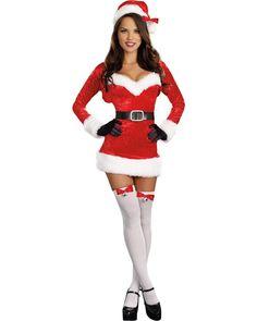 e841d6ad9a3 Dreamgirl Women s Santa Baby Costume