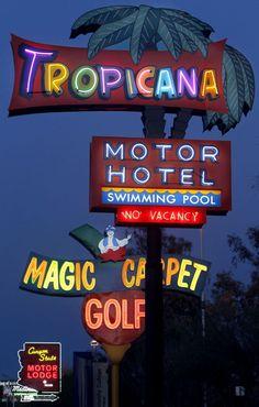 Neon signs in Tucson, AZ.