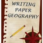 This is a geography writing themed paper that can be a fun way to encourage your younger students to write. It has a beautiful banner on top and on...