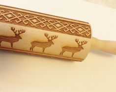 Personalized Rolling Pin with NAMES. Up to 16 by AlgisCrafts