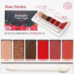Etude House Fantastic Color Eyes - Rose Garden Palette