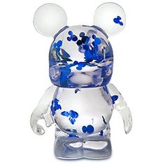 Disney Store 25th Anniversary Glitter Mickey Mouse Vinylmation Figure -- 3''   $12.95