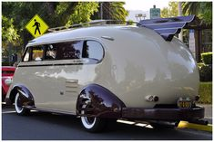 "OK, so totally 1941, but I could see me, TODAY, road trippin"" in this all summer, with my little coupe towed behind....."