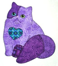 Anna's Awesome Appliques: More Patch Cats