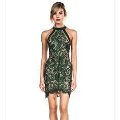 Coming Soon! Green Lace Dress S-M-L ✨ Coming soon! Comment your size to be notified once it arrives! Will be $60. Dresses
