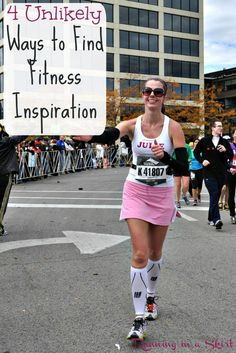 4 Unlikely Ways to Find Fitness Inspiration. Motivation and realistic ways to…