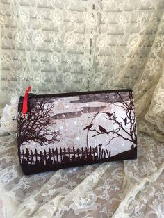 Tombstone Cosmetic Bag Toiletry bag Makeup Bag by BrightSpotDecor