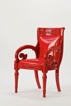 red - chair - Versace Home 2011 – 2012