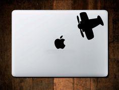 Airplane Decal Vinyl for Car Truck Macbook IPad Laptop Window Sticker by NebraskaVinyl on Etsy