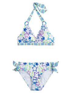 Multi-Color Stars Bikini Swimsuit | Bikinis | Swimsuits | Shop Justice