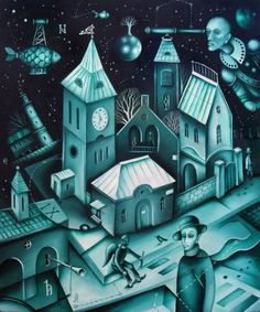 Winter Dream by Eugene Ivanov , oil on canvas, 50 X 60 cm date: unknown Canvas Art For Sale, Oil On Canvas, Dream Painting, Watercolor Painting, Modern Art For Sale, Eyes Artwork, Eyes Wallpaper, Cuban Art, Original Art For Sale