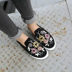 Available Sizes :EUR35;EUR36;EUR37;EUR38;EUR39 Heel Height :Flat Boot Shaft :Ankle Color :Black Toe :Round Shoe Vamp :Cloth Closure :Slip-On/Pull-On Loafer Shoes, Loafers, Flats, Trendy Fashion, Womens Fashion, Flat Boots, Mid Calf Boots, Calves, Slip On