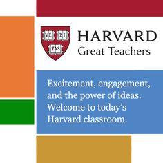 Great Teachers - Harvard University | Educational Leadership...: Great Teachers - Harvard University | Educational… #EducationalLeadership