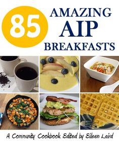 85 Amazing AIP Breakfasts