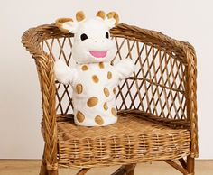 Sophie la girafe Plush Hand Puppet