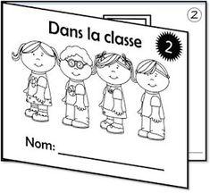 La classe de Caro: La rentrée - L'école Core French, French Class, French Teacher, Teaching French, Funny Watch, Teacher Helper, Second Language, How To Treat Acne, Learn French