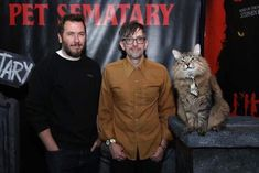 """Church the Cat wore a tie to the """"Pet Semetary"""" premiere. Just throwing it out there. All Horror Movies, Pet Cemetery, Secret Life Of Pets, Animal Memes, Popular Memes, Cats Of Instagram, Cute Cats, Cute Pictures, Cute Animals"""
