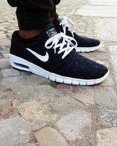 If you're sick of seeing every indie kid taking on the previously 'chavvy' air max look, Nike SB Stefan Janoski Max is the perfect alternative for you - one of my work colleagues has a pair of these and they look amazing