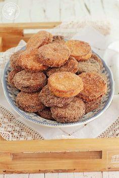 Cocinando entre Olivos: Galletas fritas rellenas de crema.