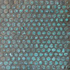 Perini Tiles porcelain copper tiles - Cobre