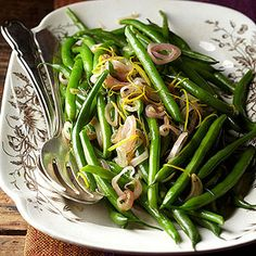 Speed up this delectable vegetable side dish by parboiling the green beans the day before you plan to serve them.
