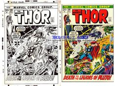 thor+199+cover+art+original+marvel+comics+john+buscema+sinnott+1972+bronze+age+cover.gif (640×476)