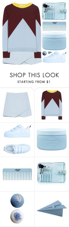 """""""alopay"""" by cnellepoms ❤ liked on Polyvore featuring Marni, Windsor Smith, Aveda, Senna Cosmetics, CB2, Sweater and MyPowerLook"""