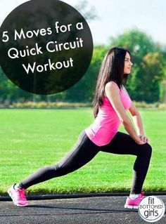 Get a great workout in just 20 minutes with this five-move circuit!