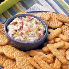 Quick BLT Dip Easy Appetizer Recipes, Dip Recipes, Great Recipes, Snack Recipes, Cooking Recipes, Favorite Recipes, Cooking Tips, Dip Appetizers, Gastronomia