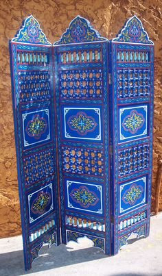 Gorgeous painted screen