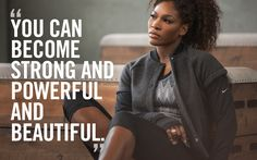 New on Nike Training Club – Serena Williams Core Power Workout Fitness Quotes, Fitness Goals, Fitness Motivation, Health Fitness, Fitness Diet, Zumba Fitness, Fitness Sport, Workout Fitness, Serena Williams