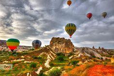 colorful Cappadocia by Cüneyd Demirci / 500px