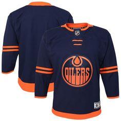 Nhl Jerseys, Edmonton Oilers, Youth, Die Hard, Navy, Boys, Raising, Crisp, Cotton