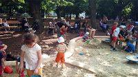 elebe, Austria en español: Parque infantil de Viena