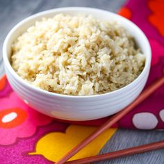 How to make perfect brown rice in your instant pot every time! Quick, easy, and fuss-free!