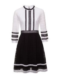 Tinkerbell Dress   Black And Cream   Dress